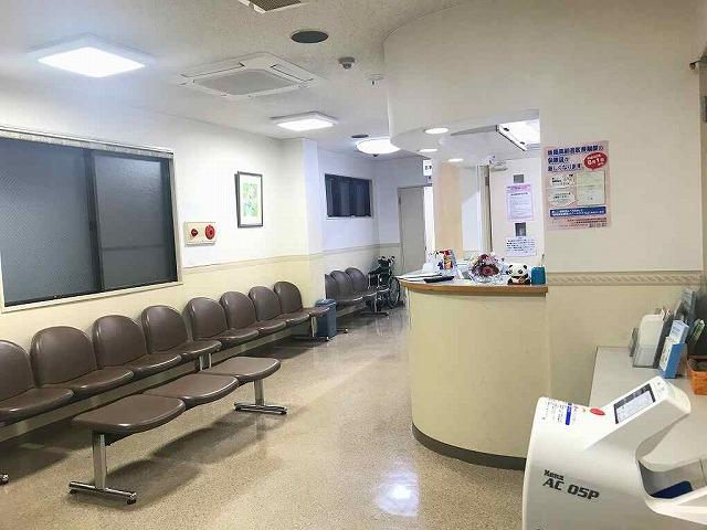 滋賀県草津市の泌尿器科・内科医院受付